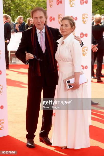 Sir Ray Davies and guest attend the Virgin TV British Academy Television Awards at The Royal Festival Hall on May 13 2018 in London England
