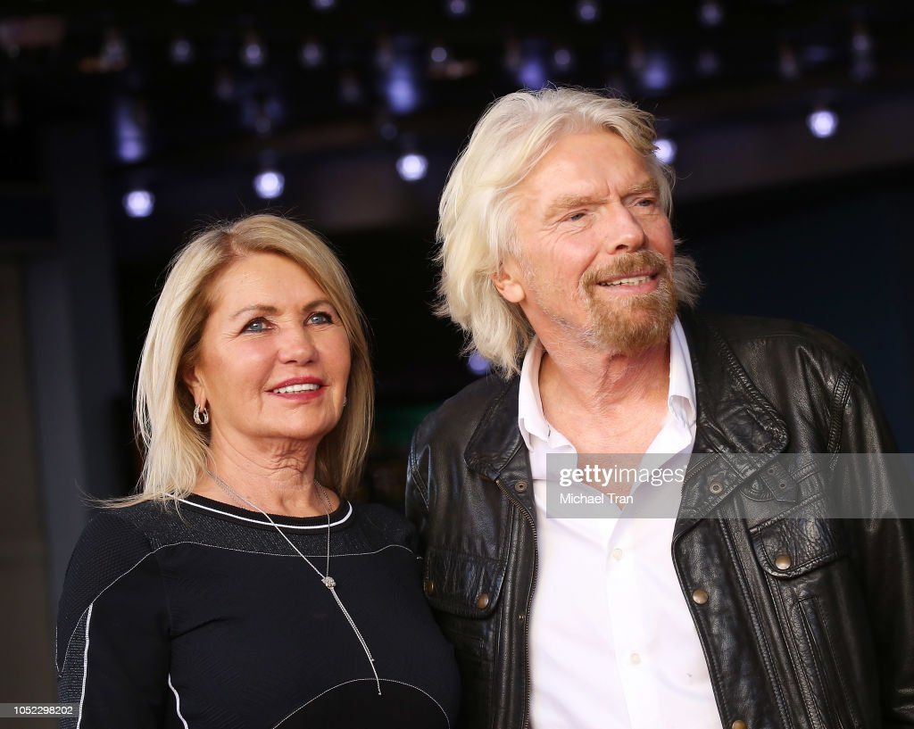 Sir Richard Branson Honored With Star On The Hollywood Walk Of Fame : News Photo