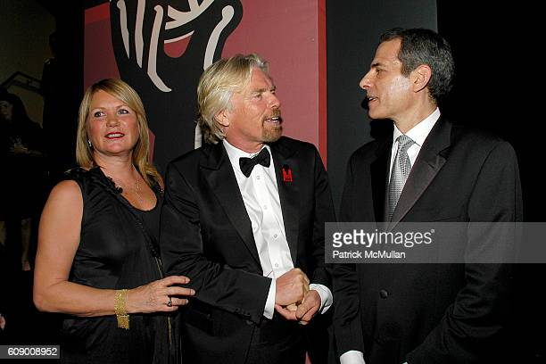 Sir Richard Branson and Rick Stengel attend TIME Magazine's 100 Most Influential People 2007 at Jazz at Lincoln Center on May 8 2007 in New York City