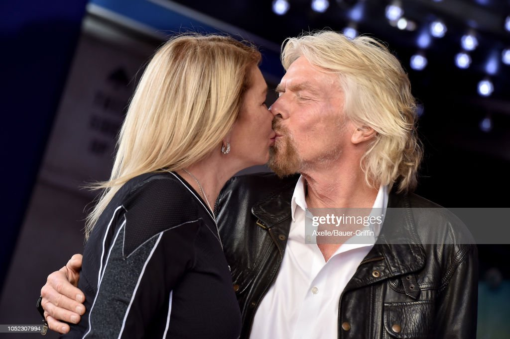 Sir Richard Branson Honored With Star On The Hollywood Walk Of Fame : Fotografía de noticias