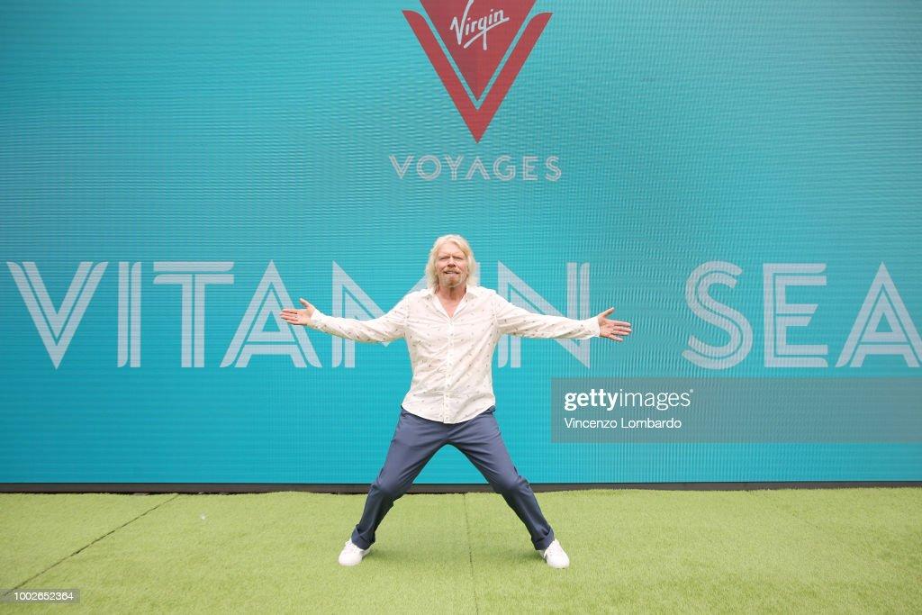 Virgin Voyages Unveils Vitamin Sea with Sir Richard Branson : ニュース写真