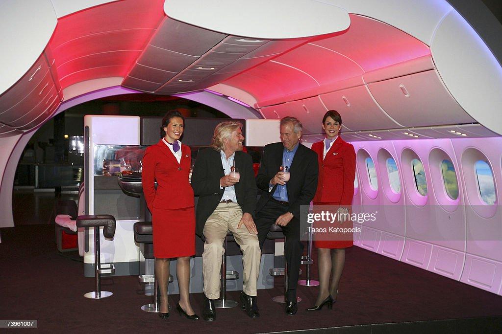 Virgin Atlantic And Boeing Announces New Environmental Initiative : News Photo