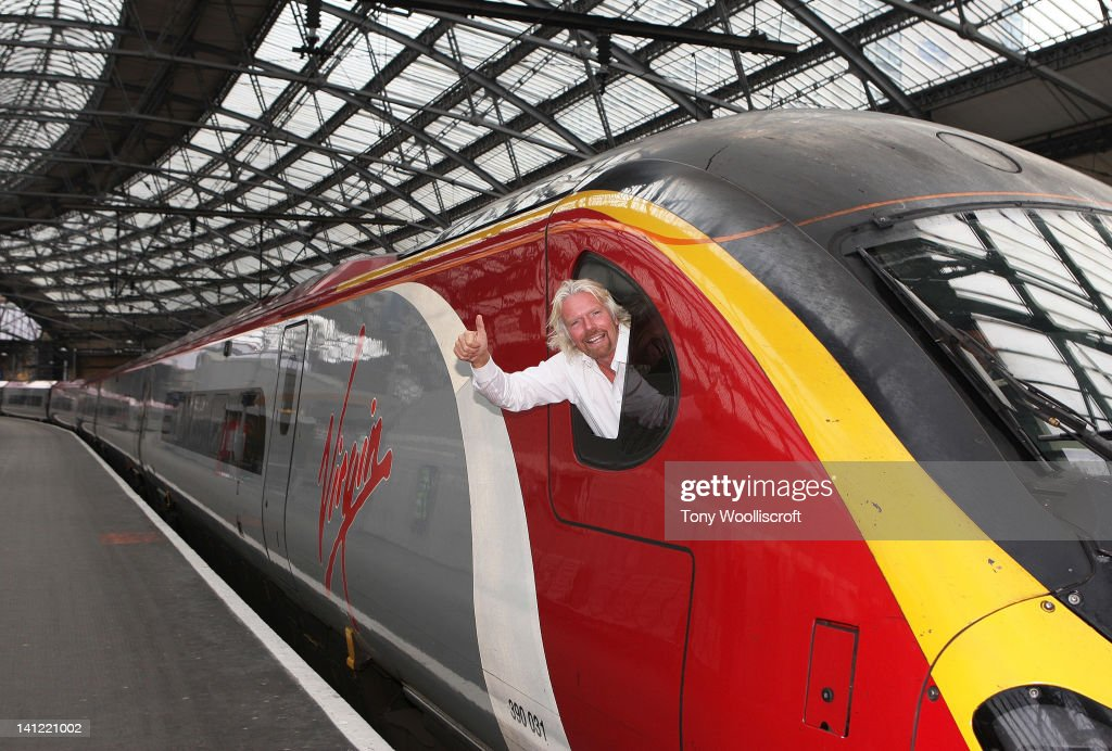 Sir Richard Branson Launches The Day Of Activity In Liverpool : ニュース写真