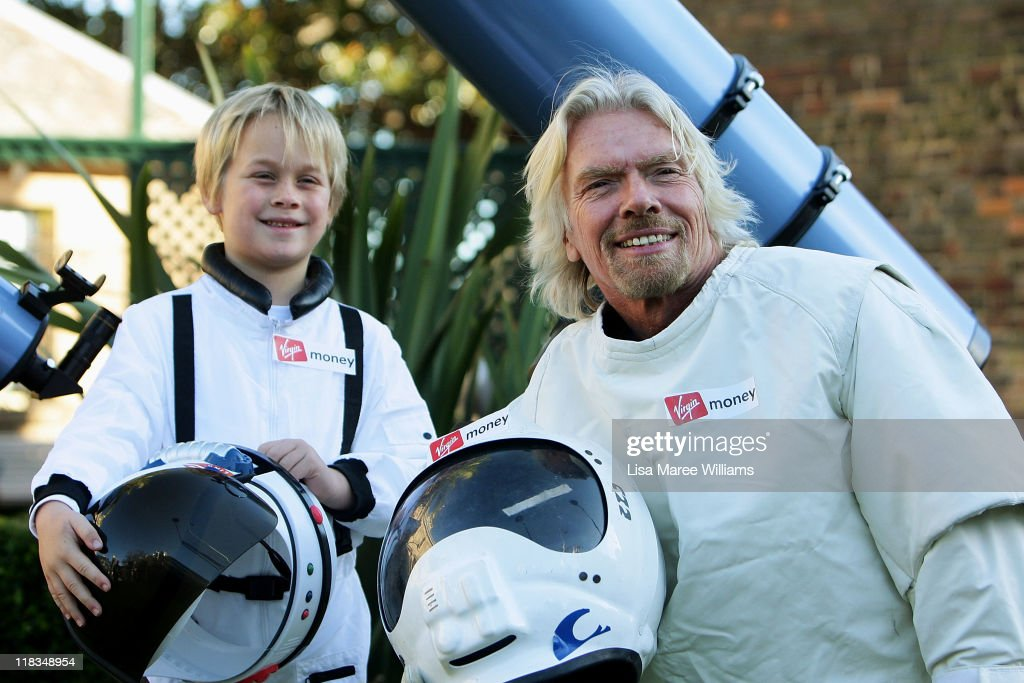 Richard Branson Celebrates Virgin Money's Australia Birthday