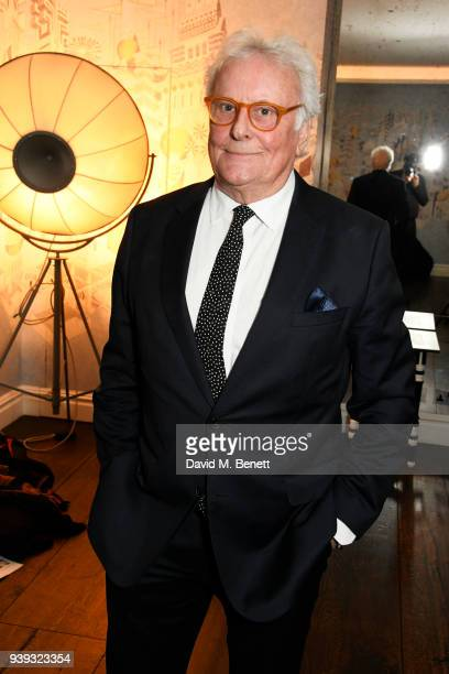 """Sir Richard Eyre attends a special screening of new BBC Two drama """"King Lear"""" at The Soho Hotel on March 28, 2018 in London, England."""