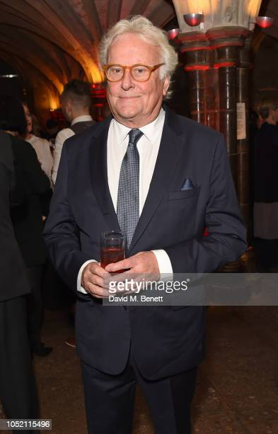 Sir Richard Eyre attends The UK Theatre Awards 2018 at The Guildhall on October 14, 2018 in London, England.