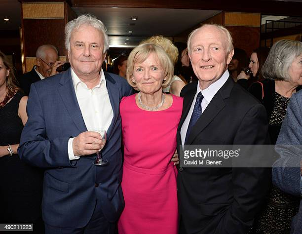 Sir Richard Eyre Glenys Kinnock Baroness Kinnock of Holyhead and Neil Kinnock attend an after party following the press night performance of 'The...