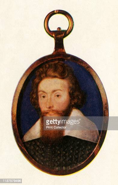 Sir Richard Leveson, circa 1600, . Portrait of English navy officer, politician and landowner Sir Richard Leveson . Leveson was knighted for his...