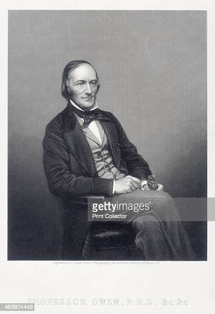 Sir Richard Owen English zoologist c1860 Owen studied medicine at Edinburgh and at St Bartholomew's and became curator in the museum of the Royal...