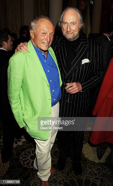 Sir Richard Rogers and Ed Victor attend the Tatler Restaurant Awards 2011 at The Langham Hotel on May 9 2011 in London England