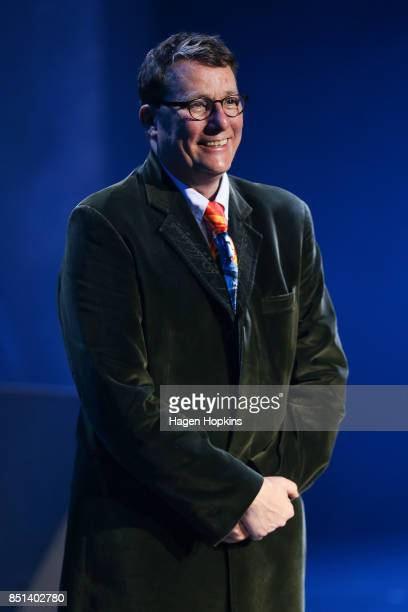 Sir Richard Taylor looks on during the World of WearableArt Awards 2017 at TSB Bank Arena on September 22 2017 in Wellington New Zealand