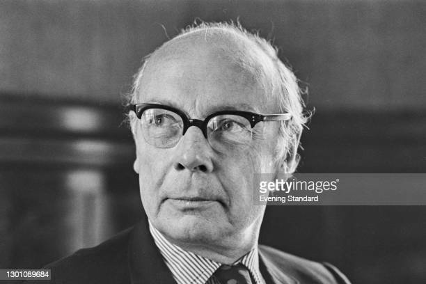 Sir Richard Way , aka Sam Way, chairman of the Greater London Council's London Transport Executive, UK, 15th June 1973.