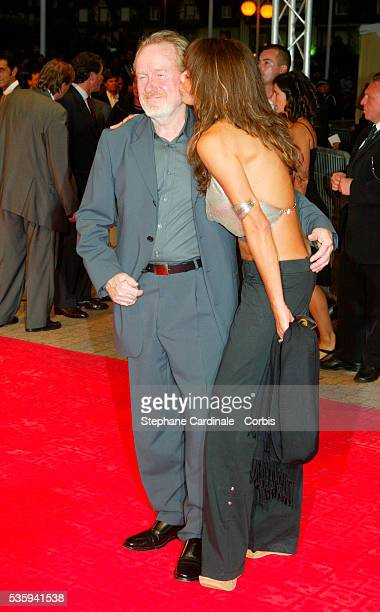 Sir Ridley Scott and Giannina Facio.