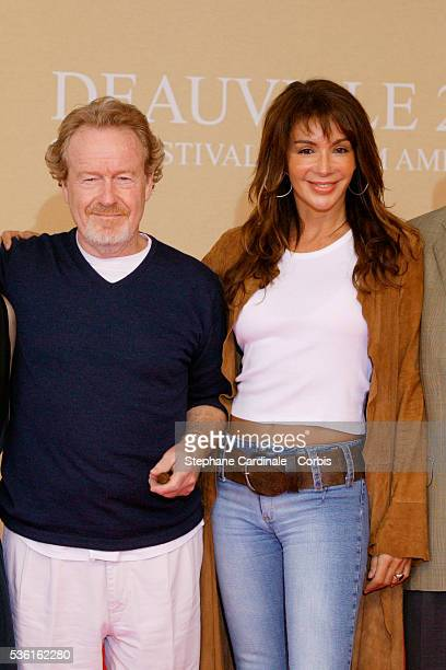 Sir Ridley Scott, Giannina Facio.