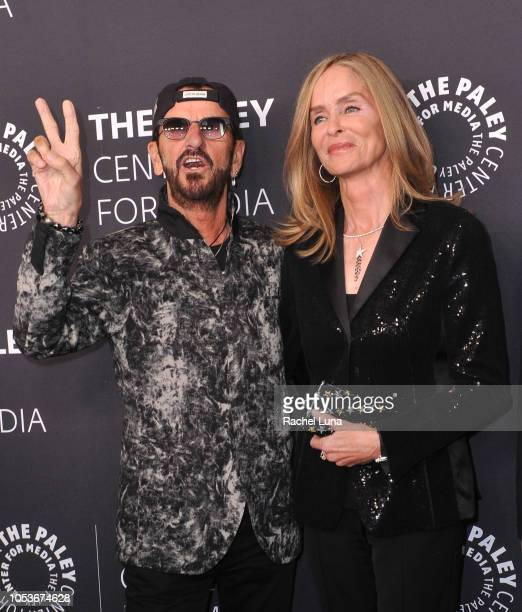 Sir Ringo Starr and wife Barbara Bach attend the Paley Center for Media's 'Paley Honors In Hollywood A Gala Tribute To Music On Television' at the...