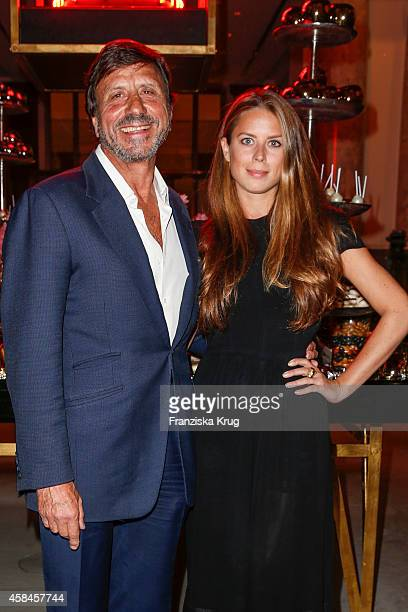 Sir Rocco Forte and his daughter Lydia Forte attend the ReOpening of the 'La Banca' restaurant at Hotel de Rome on November 05 2014 in Berlin Germany