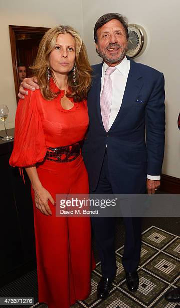 Sir Rocco Forte and Lady Aliai Forte attends Brown's Hotel Summer Party at Brown's Hotel on May 14th 2015 in London United Kingdom