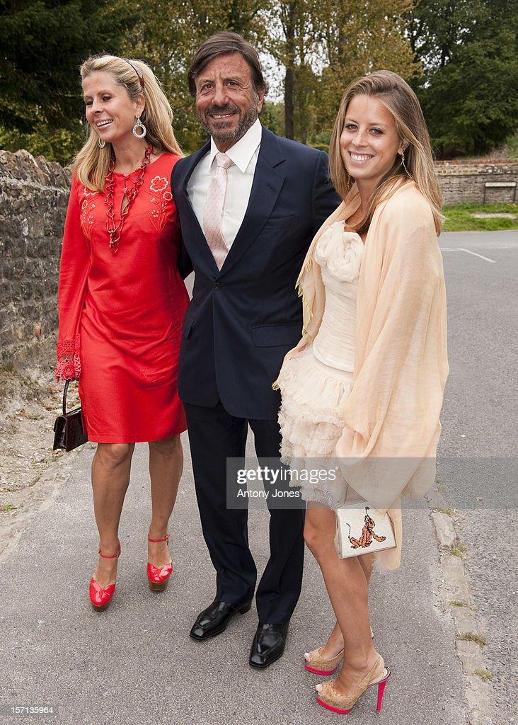 William Astor And Lohralee Stutz Wedding - Oxfordshire : News Photo