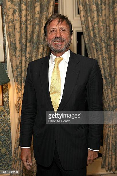 Sir Rocco Forte attends the launch of Right Or Wrong The Memoirs Of Lord Bell by Lord Tim Bell on October 16 2014 in London England