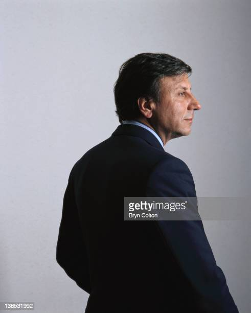 Sir Rocco Forte hotelier and son of Charles Forte poses for a photograph in his office at Savannah House in London UK on Thursday November 25 1991...
