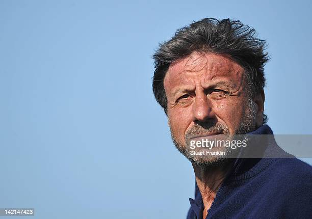 Sir Rocco Forte watches during the second round of the Sicilian Open at Verdura Golf and Spa Resort on March 30 2012 in Sciacca Italy