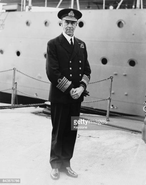 Sir Roger Backhouse CommanderinChief of the Home Fleet 30th January 1938