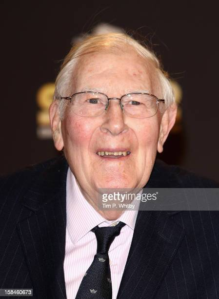 Sir Roger Bannister attends the BBC Sports Personality of the Year Awards at ExCeL on December 16 2012 in London England