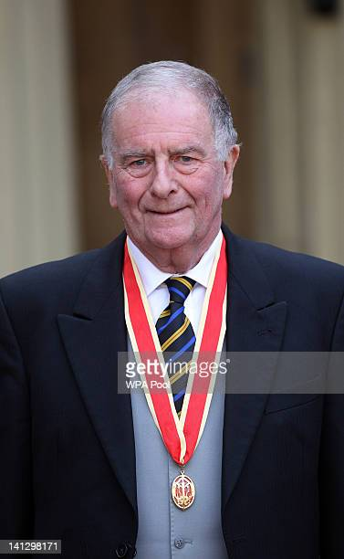 Sir Roger Gale after he was knighted at an Investiture ceremony at Buckingham Palace on March 14 2012 in London England
