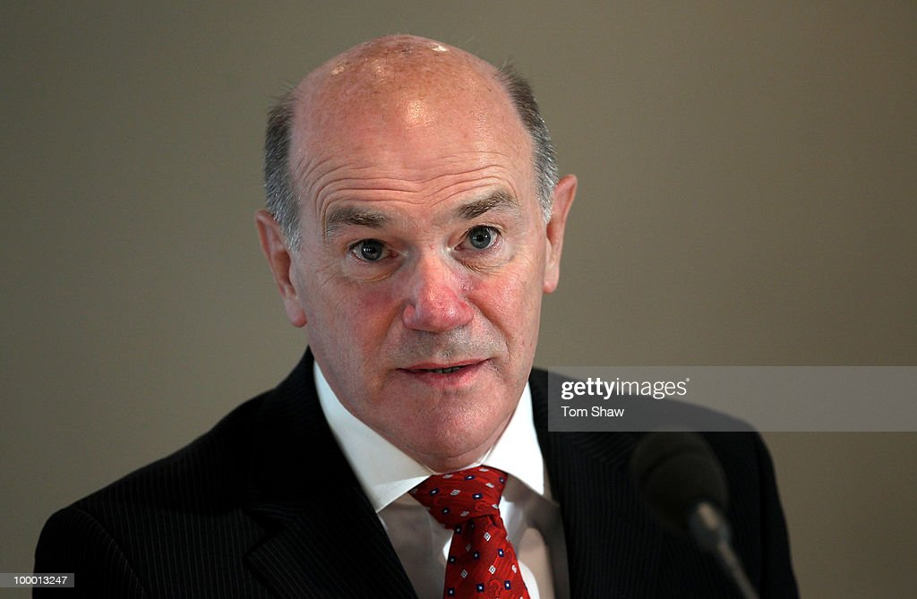 Sir Ronnie Flanagan the new Chief of the ICC Anti Corruption and Security Unit talks to the press during a press conference at Lords on May 20, 2010 in London, England.