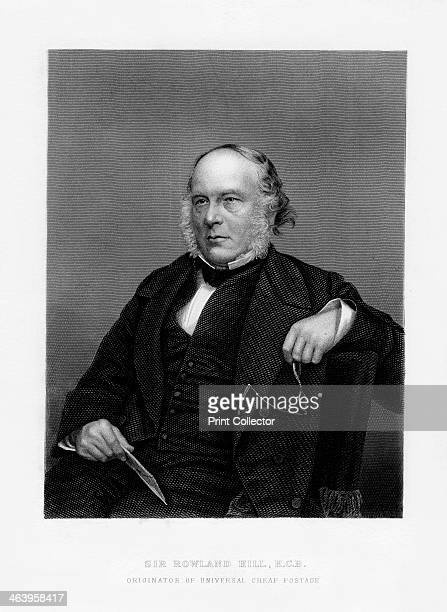 Sir Rowland Hill British teacher pamphleteer and creator of penny postage 19th century Hill founded the present postal system when in 1840 he...
