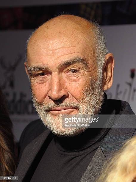 "Sir Sean Connery attends the 8th annual ""Dressed To Kilt"" Charity Fashion Show presented by Glenfiddich at M2 Ultra Lounge on April 5, 2010 in New..."