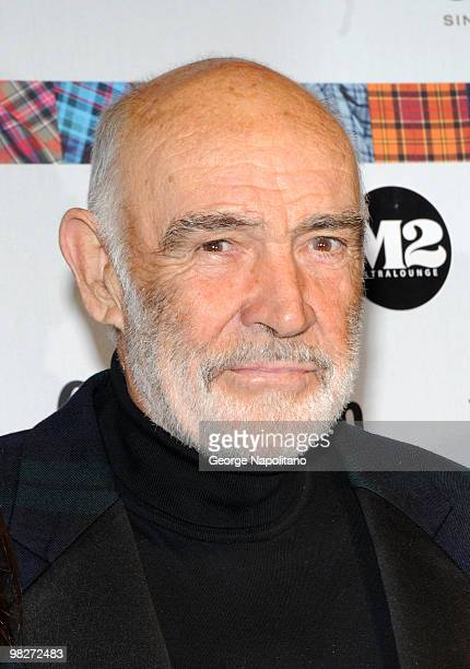 Sir Sean Connery attends the 8th annual Dressed To Kilt Charity Fashion Show at M2 Ultra Lounge on April 5 2010 in New York City