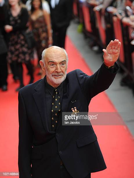 Sir Sean Connery attends the opening film of The Edinburgh Film Festival The Illusionist on June 16 2010 in Edinburgh Scotland