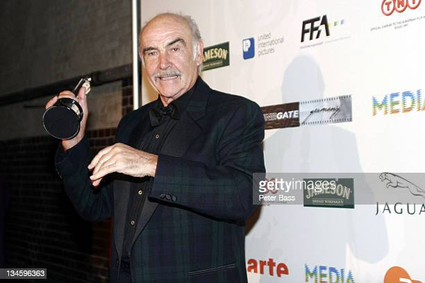 Sir Sean Connery during 18th European Film Awards Arrivals and Press Room at Treptow Arena in Berlin Germany