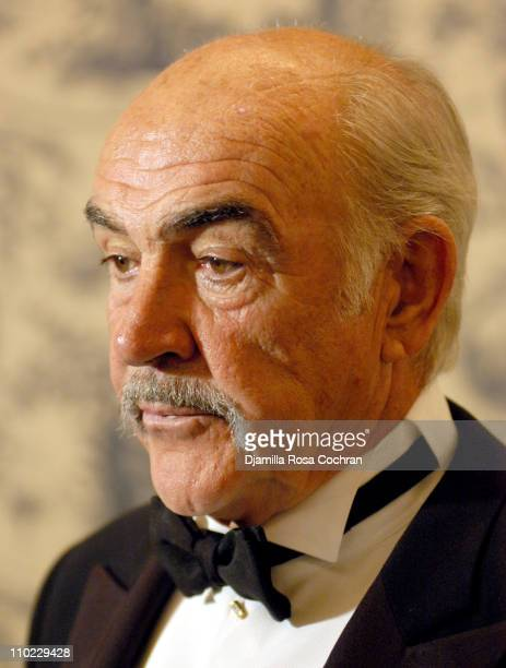 Sir Sean Connery during AmericanItalian Cancer Foundation Gala at The Pierre Hotel in New York City New York United States