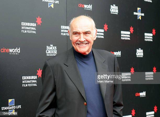 Sir Sean Connery during Sir Sean Connery Attends the Edinburgh International Film Festival at Cineworld in Edinburgh, Scotland, Great Britain.