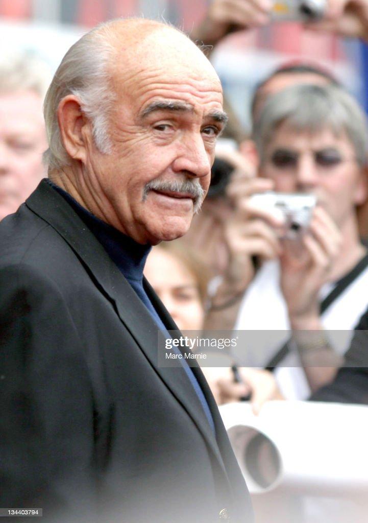 Sir Sean Connery during Sir Sean Connery Attends the Edinburgh International Film Festival at Cineworld in Edinburgh, Scotland, Great Britain.