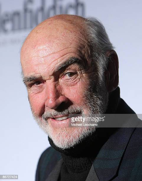 """Sir Sean Connery hosts and attends the """"Dressed To Kilt"""" charity fashion show benefiting Friends of Scotland at M2 Lounge on March 30, 2009 in New..."""