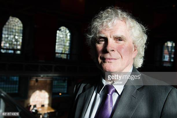 Sir Simon Rattle at a press conference to launch Simon Rattle's opening season as Music Director of The London Symphony Orchestra at LSO St Lukes on...