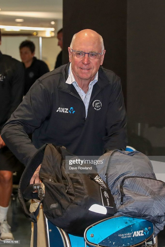Sir Stephen Tindall during the Welcome Home Function at Novotel on April 16, 2018 in Auckland, New Zealand.