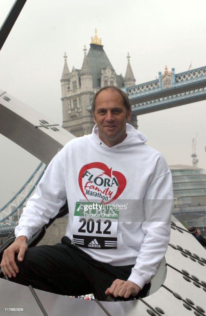 Flora London Marathon 2005 - Celebrity Runners Photocall