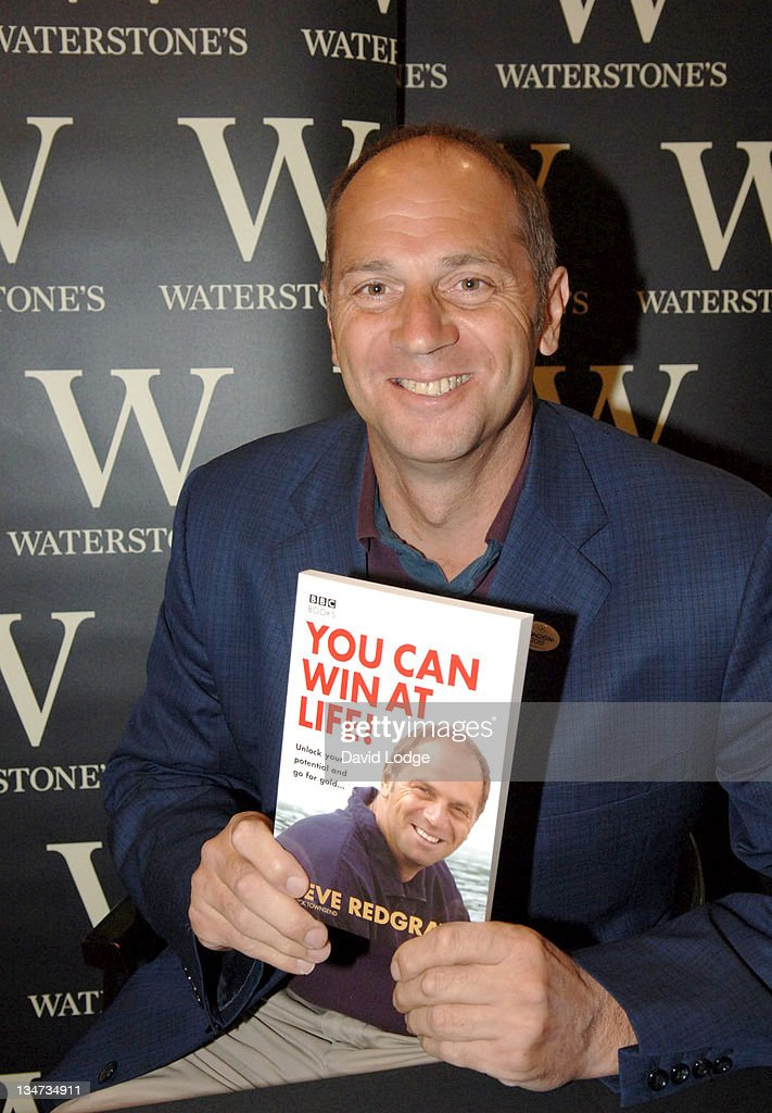 "Sir Steve Redgrave Signs His Books ""A Golden Age"" and ""You Can Win at Life!"" at"