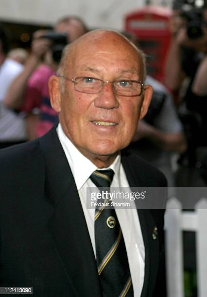 Sir Stirling Moss during Summer Party to Celebrate Alfred Dunhill at The Goodwood Festival of Speed at Alfred Dunhill in London Great Britain