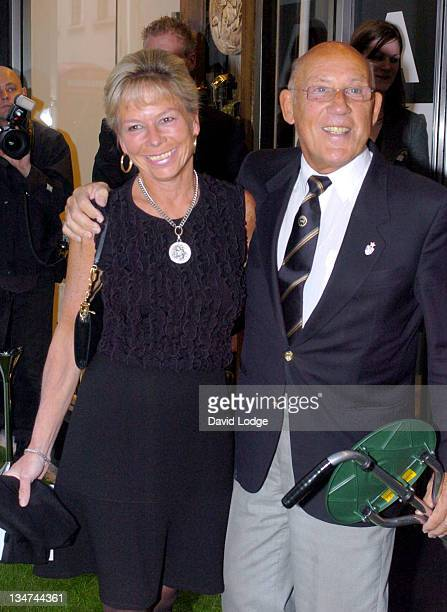 Sir Stirling Moss during Summer Party to Celebrate Alfred Dunhill at The Goodwood Festival at Alfred Dunhill in London