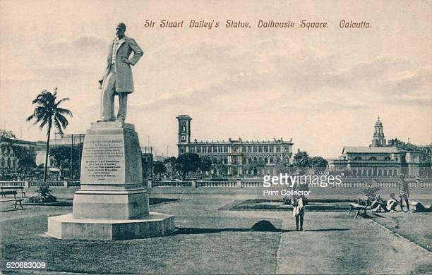 Sir Stuart Bailey's Statue Dalhousie Square Calcutta' c1910 Sir Steuart Colvin Bayley was a British civil servant and LieutenantGovernor of Bengal...