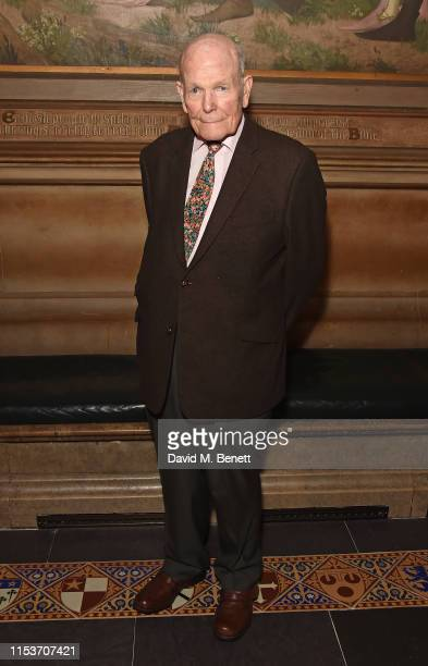 Sir Sydney Samuelson attends Where Hands Touch screening at House of Commons on June 04 2019 in London England