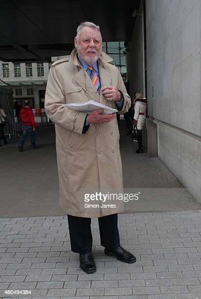 Sir Terry Waite sighting at the BBC on December 15, 2014 in London, England.
