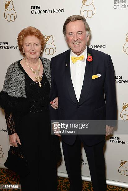 Sir Terry Wogan and Lady Helen Wogan attend Gary Barlow Hosts BBC Children In Need Gala at The Grosvenor House Hotel on November 11 2013 in London...