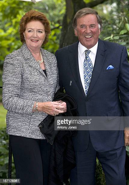 Sir Terry Wogan And Wife Helen Arrive At Sir David Frost'S Summer Garden Party In Carlyle Square West London