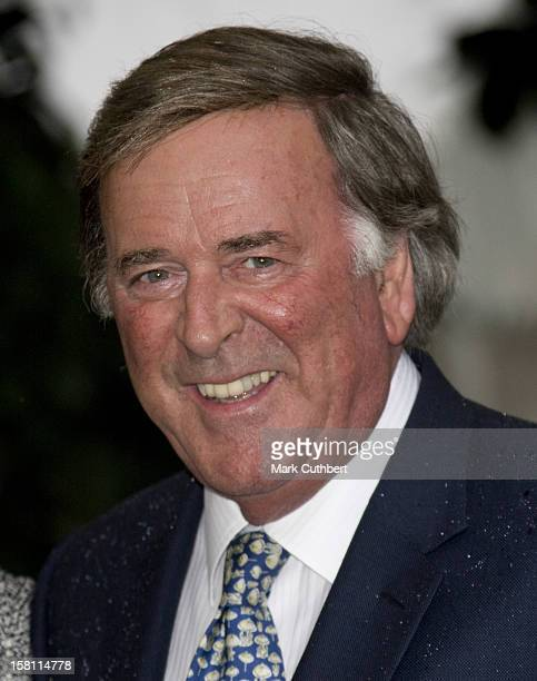 Sir Terry Wogan Arrives At A Garden Party Held By David Frost Each Year Near His London Home